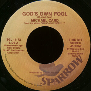 God's Own Fool Promo 45