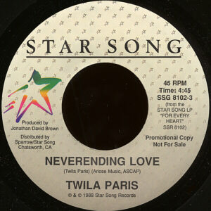Twila Paris - Neverending Love