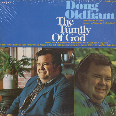 DOUG OLDHAM - Doug Oldham The Family Of God - LP