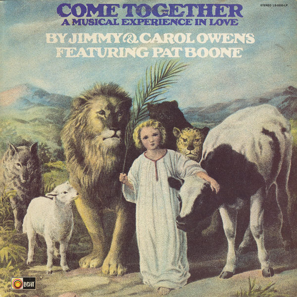 JIMMY & CAROL OWENS -  Come Together: A Musical Experience In Love - LP