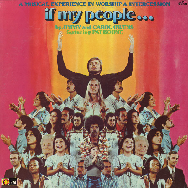 JIMMY & CAROL OWENS - Jimmy & Carol Owens If My People...: A Musical Experience In Worship & Intercession - LP