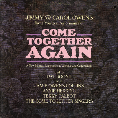 JIMMY & CAROL OWENS - Jimmy & Carol Owens Come Together Again: A New Musical Experience In Worship And Commitment - LP