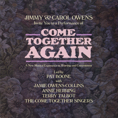 JIMMY & CAROL OWENS -  Come Together Again: A New Musical Experience In Worship And Commitment (UK) - LP