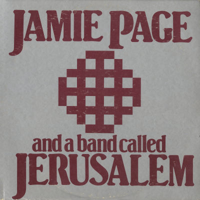 Jamie Page And A Band Called Jerusalem